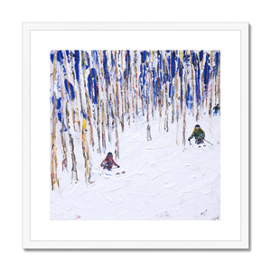 Vail and Beaver Creek Framed & Mounted Print