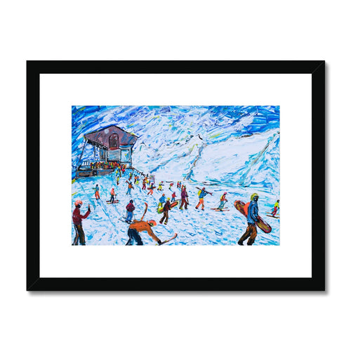 Zermatt Rothorn Framed & Mounted Print