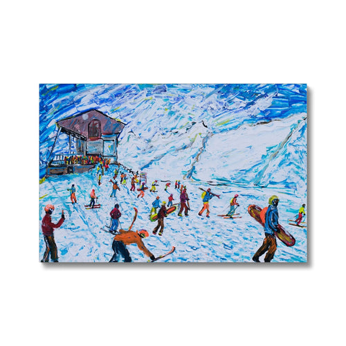 Zermatt Rothorn Canvas