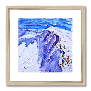 Palisades Hawley Rock Squaw Valley Framed & Mounted Print