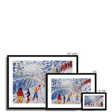 Load image into Gallery viewer, La Vizelle Courchevel Framed & Mounted Print