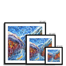 Load image into Gallery viewer, Courmayeur and Mt Blanc Framed & Mounted Print
