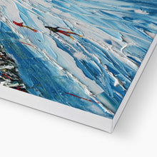 Load image into Gallery viewer, L' Alpette Skiing Canvas