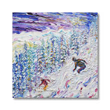 Load image into Gallery viewer, Off Piste Les Arcs 2000 Canvas