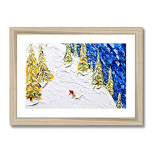 Load image into Gallery viewer, Les Gets Off Piste Framed & Mounted Print