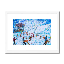 Load image into Gallery viewer, Zermatt Rothorn Framed & Mounted Print