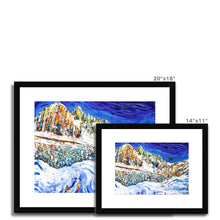 Load image into Gallery viewer, Colours of the Dolomites Framed & Mounted Print