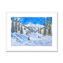 Load image into Gallery viewer, Kitzbuhel Relaxing Day on the Pistes Framed & Mounted Print