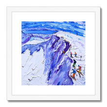 Load image into Gallery viewer, Palisades Hawley Rock Squaw Valley Framed & Mounted Print
