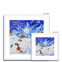 Load image into Gallery viewer, Shreddin Avoriaz Morzine Framed & Mounted Print