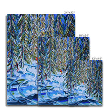 Load image into Gallery viewer, In the Woods Verbier Canvas