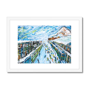 Wengen Framed & Mounted Print