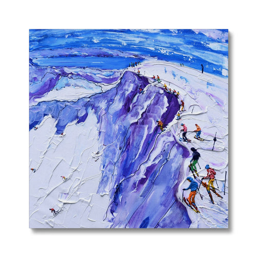 Palisades Hawley Rock Squaw Valley Canvas