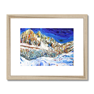 Colours of the Dolomites Framed & Mounted Print