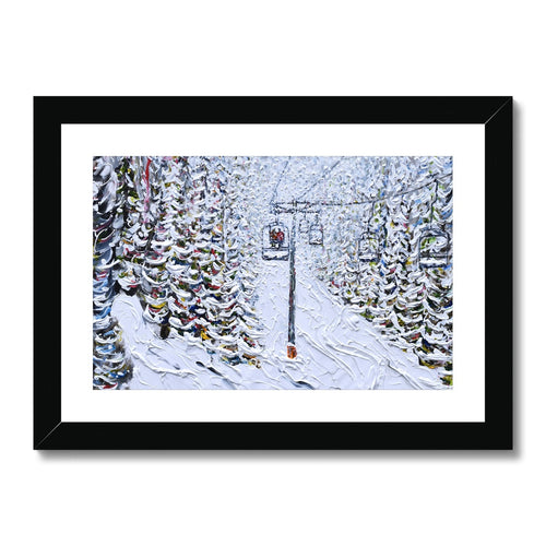 Chair 6 Breckenridge Framed & Mounted Print