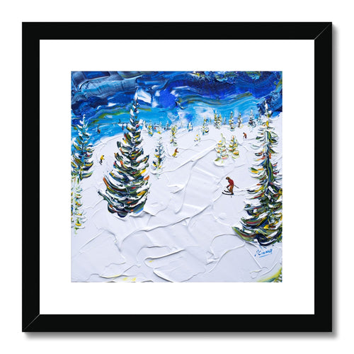 Les Houches Chamonix Framed & Mounted Print