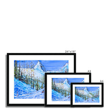 Load image into Gallery viewer, Zermatt Framed & Mounted Print