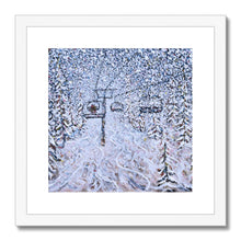 Load image into Gallery viewer, Chair 22 Vail - Nothing To See Framed & Mounted Print