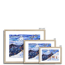 Load image into Gallery viewer, Swiss Wall Avoriaz Morzine Framed & Mounted Print