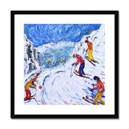 Whistler Bowl Framed & Mounted Print