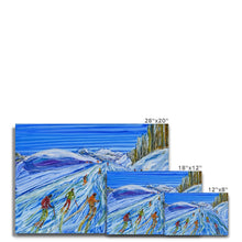 Load image into Gallery viewer, Sculptured Sources La Plagne Canvas