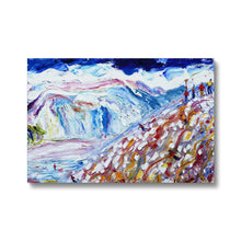 Load image into Gallery viewer, The Face Val D'Isere Canvas