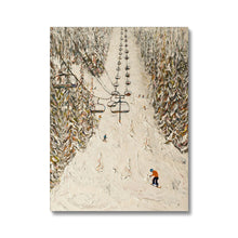Load image into Gallery viewer, Flaine Grand Massif Ski Print Canvas