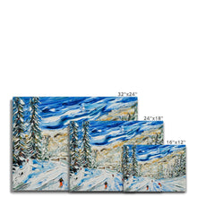 Load image into Gallery viewer, Avoriaz to Morzine Crot Piste Canvas