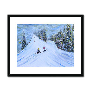 Grande Massif Framed & Mounted Print