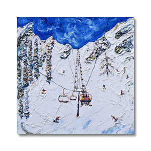 KT-22 Chair Lift Squaw Valley Canvas