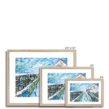 Load image into Gallery viewer, Wengen Framed & Mounted Print