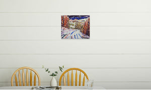 DSC_1327 canvas prints in room (kitchen), wrap: white, size: 16x20""
