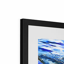 Load image into Gallery viewer, DSC_1817 framed & mounted prints in corner, black frame, size: 12x12""
