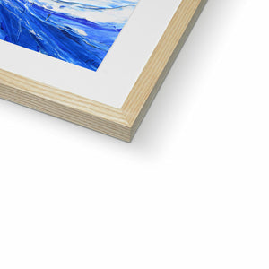 DSC_1817 framed & mounted prints in closeup, natural frame, size: 12x12""