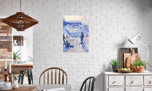 DSC_1654 canvas prints in editorial (dining room), wrap: white, size: 20x30""