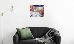 DSC_1327 canvas prints in room (sofa), wrap: white, size: 16x20""