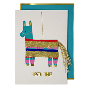 Fiesta Time! Pinata Happy Birthday Dec Card