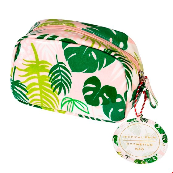 Tropical Palm Make-Up Bag