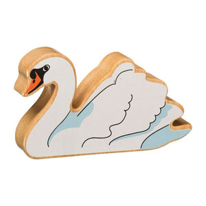 Lanka Kade Wooden Toy Fair trade - Natural White Swan