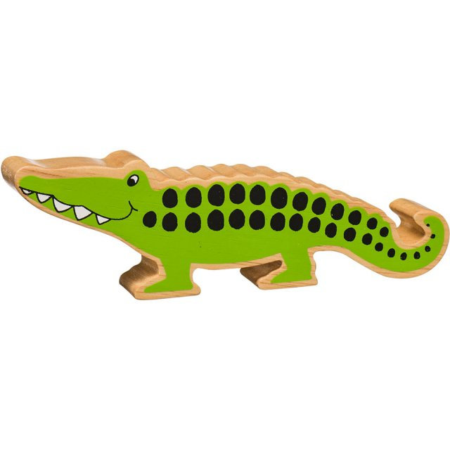 Lanka Kade Wooden Toy Fair Trade - Crocodile
