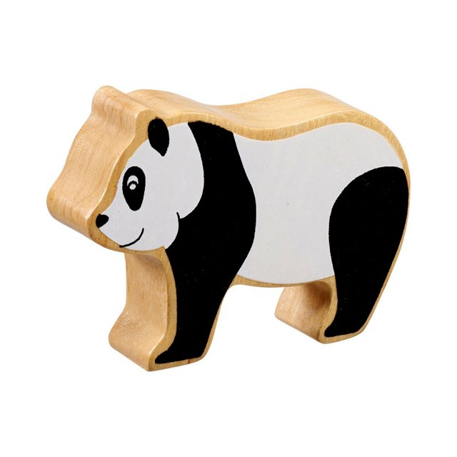 Lanka Kade Wooden Toy Fair Trade - Natural Black/White Panda
