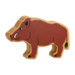 Lanka Kade Wooden Toy Fair Trade - Wild Boar