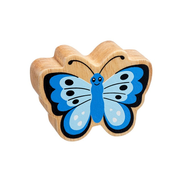 Lanka Kade Wooden Toy Fair trade - Blue Butterfly