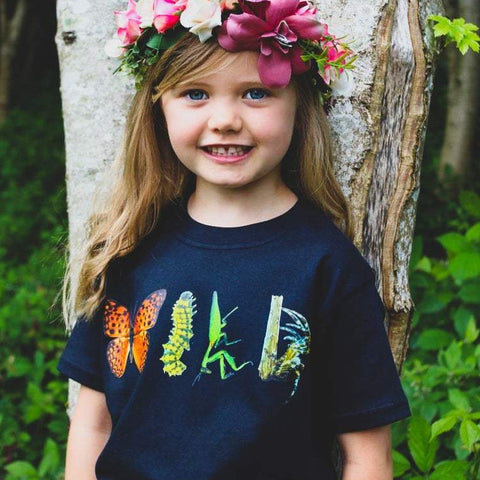 Wild Bugz Black T-Shirt Ages 1-6 years