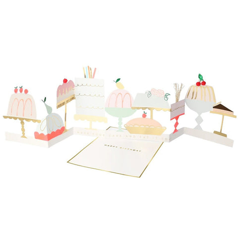 Have Your Cake And Eat It Concertina Card