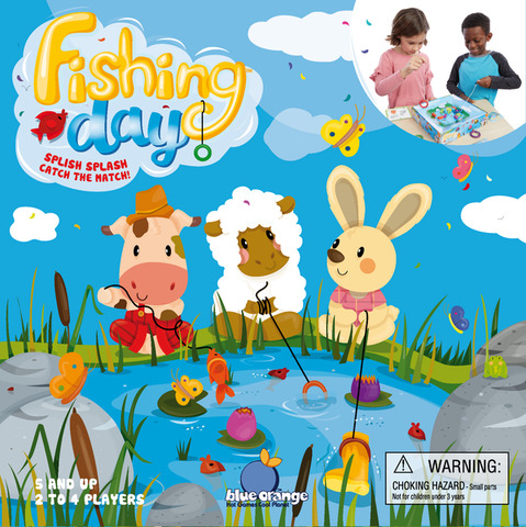 Fishing Day Game Age 5 years +