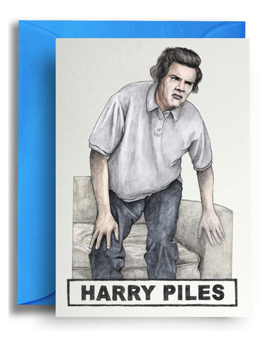 Harry Piles Card
