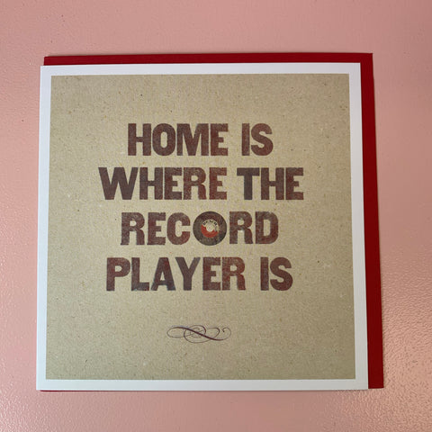 Home Is Where The... New Home Card