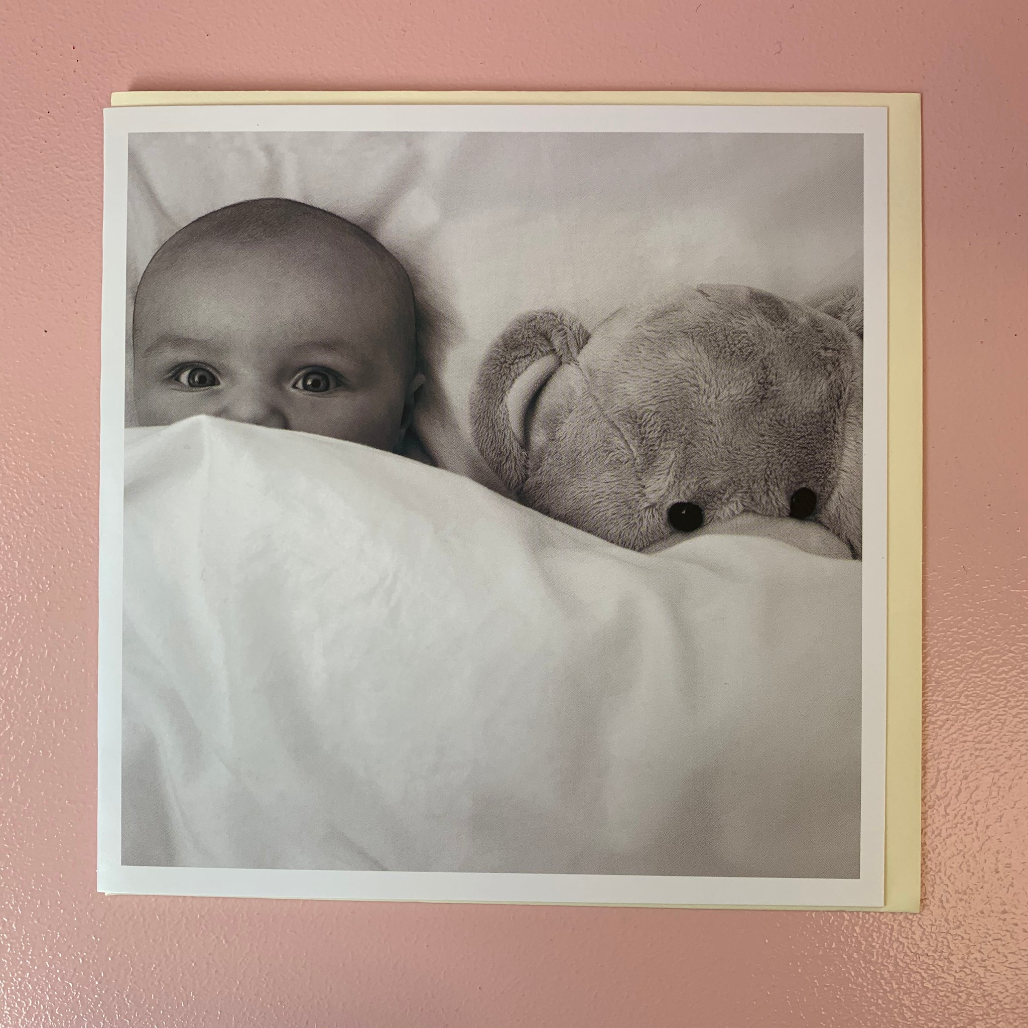 New Baby Black & White Card