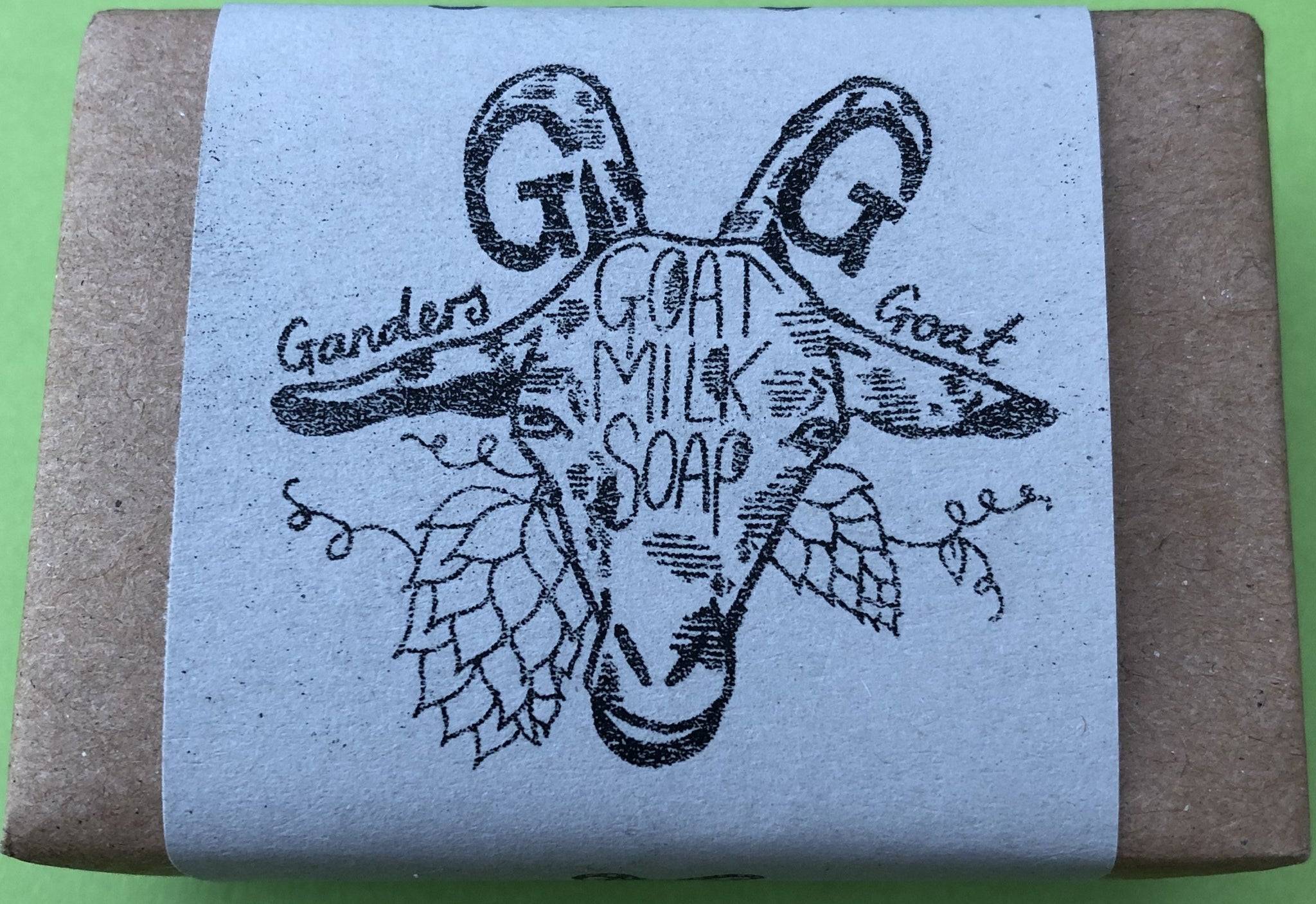 Soothing Goats Milk Soap Hop, Sage & Birch